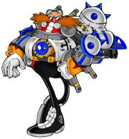 'Team' Robotnik Speed Form by jessicapadkin
