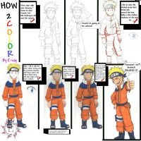 Coloring Tutorial by E-vay