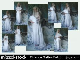 Christmas Goddess Pack 1 by mizzd-stock