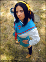 Haruhi Suzumiya_cosplay by winryproduction90