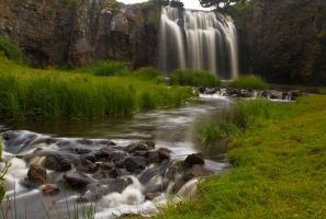 cascade des Veyrines:Cantal by tiquitiqui