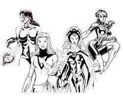X-women by racookie3