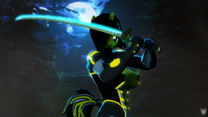 Neon Ninja by MercFox438
