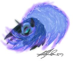 Nightmare Moon: Sai by ZICANEBORGEN