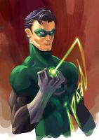 Green Lantern by z3dd