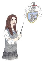 Ravenclaw girl by EmpressofHeaven