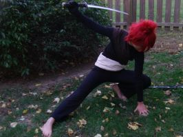 Gaara with an awesome sward by AnimeVoiceKiddo