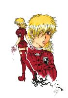 Red Seras by LadyMillennium