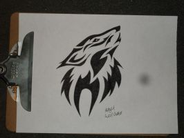 Wolf Head.. by Wolven-Slave