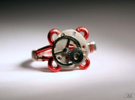 Steampunk ring 5 by TheCraftsman