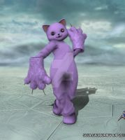 The GiantPurpleCat! by GiantPurpleCat