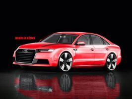 Audi A8 Concept by MOMOYAK by MOMOYAK