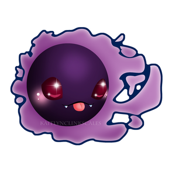 Gastly by Clinkorz