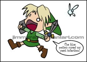 This Is Why Link Doesn't Talk by JimmyRay