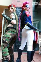 Alternates - Cammy and Viper by KOCosplay