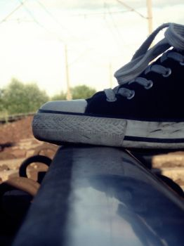 let me take a photo of your shoe by Maghda