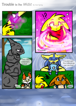 Trouble in the midst 20 by Skyrocker4cats