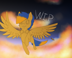 :WIP: Skye - Come, Fly With Me by IronMeow