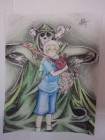 Finn The Human And The Lich. by robert2715