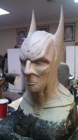 Batman beyond clay cowl by agfrx7