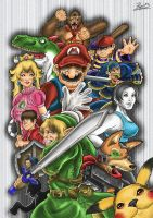 Super Smash Bros by Pepowned