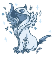 Mega Absol by theshotawithahat
