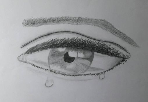 Crying eye by AlvaroGH19