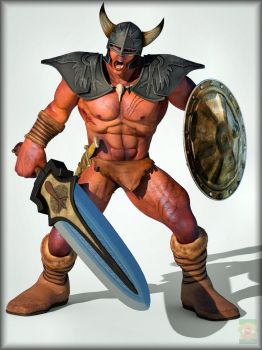 ~Sumerian Barbarian~ by ken1171