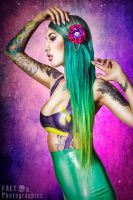 Octopug Promo - Hell No Kitty Hair Flower by falt-photo