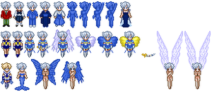 Sailor Uranus Sprites by Honest-Beauty