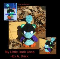 My Little Dark Chao by Milayou