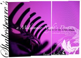 Midsummer night's dream poster by bluwings