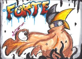 Otakon Art Show Pic 2: Forte Graffiti by Squireprincess