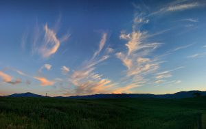 Horsetail Clouds by Halcyon1990