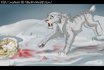 Bloody Snow by Mganga-The-Lion