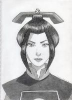 Princess Azula by GoldenSplash