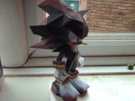 Shadow papercraft by nin-mario64