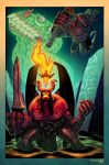 Hellboy vs Anung Un Rama AGAIN by Andrew-Ross-MacLean