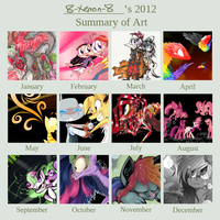 2012 Summary of Art by 8-Xenon-8