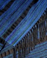 Mountain River Shawl Detail by SilverWheelYarn