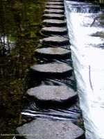 Stepping Stones by NataleeEmerald