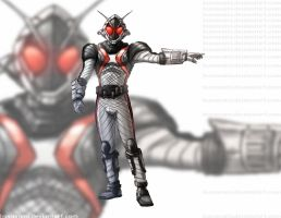 Kamen Rider Fourze Warm-Up by PioPauloSantana