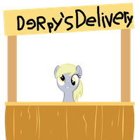 Derpy's Delivery Stand by craftybrony