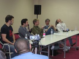 Voice Actors panel in SacAnime by Wardog1