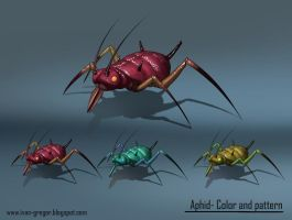Aphid-color And Pattern Variation by rastafic