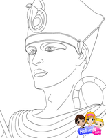Rameses II by Writer-Colorer