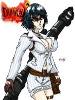 Devil May Cry - Lady by Wyvern07