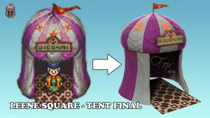 Chrono Trigger - Leene Square - Tent Final by Mckronic