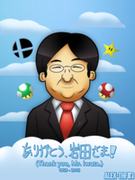 Thank you, Mr. Iwata! by AlexTHF