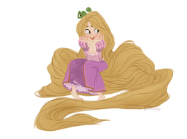 tresses - color by taffygiraffe